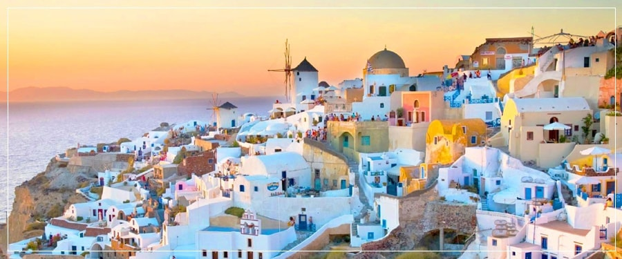 Santorini Port Tours (Shore Excursions) : Private Tour to Akrotiri, Fira Town