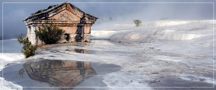 Pamukkale Tours : Pamukkale Tour from/to Istanbul by Plane
