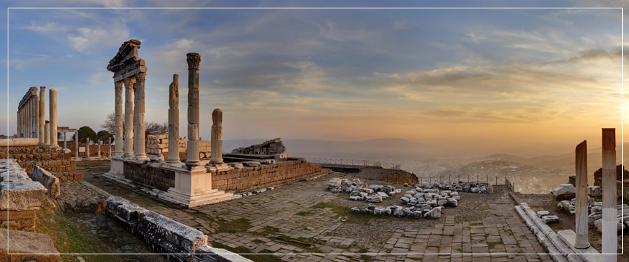 Dikili Port Tours (Shore Excursions) : Private Tour to Pergamon, Acropolis, Asclepion
